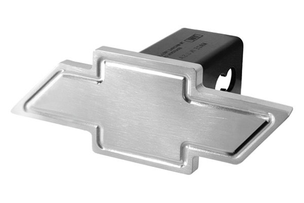 DefenderWorx® - Polished Hitch Cover with Heavyweight Cutout Bowtie
