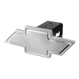 DefenderWorx® - Heavyweight Chevy Bowtie Brushed Hitch Cover