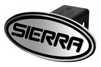 DefenderWorx® - Oval Hitch Cover with Sierra Logo