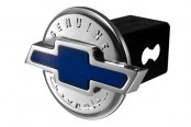 DefenderWorx® - Blue Hitch Cover - Genuine 3D Style