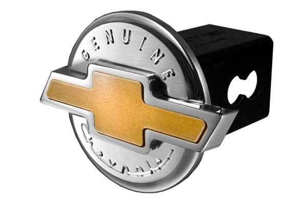 DefenderWorx® - Gold Hitch Cover - Genuine 3D Style
