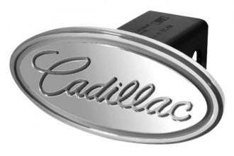 DefenderWorx® - Cadillac Style Silver Hitch Cover