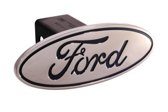 DefenderWorx® - Ford Style Blue Hitch Cover