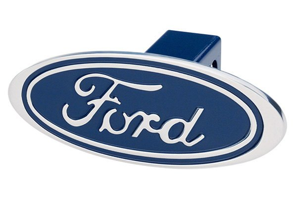 DefenderWorx® - Premium Design Oval Hitch Cover with Ford Logo