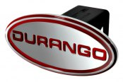 DefenderWorx® - Oval Hitch Cover with Durango Logo