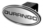 "DefenderWorx® - 2"" Dodge Durango Style Silver Hitch Cover"