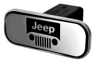 DefenderWorx® - Jeep Style Hitch Cover - Windshield Style