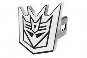DefenderWorx® - Hitch Cover with Transformers™ Decepticon Logo