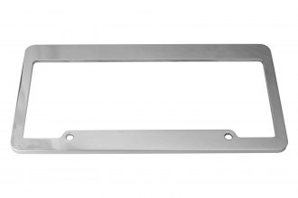 DefenderWorx® - Billet Polished License Frame Frame