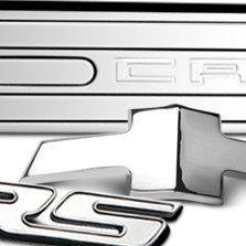 Defenderworx® - Chrome Badges and Letters