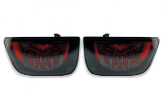 DefenderWorx® - Autobot LED Tail Lights with Smoke Lens