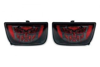 DefenderWorx® - Autobot LED Tail Lights with Clear Lens