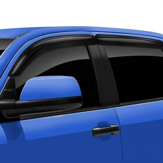DefenderWorx® - Tape-On Albermo™ Side Window Visors
