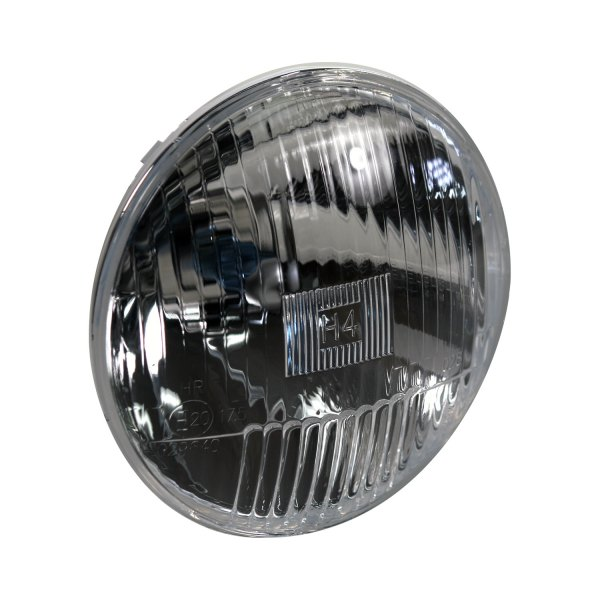 Delta Lights  Round Chrome Factory Style Composite Headlights