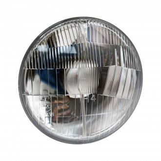 "Delta Lights® - Slim 500 5 3/4"" Round Chrome Factory Style Composite Headlight"