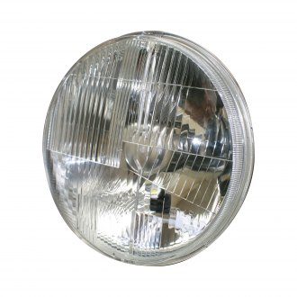 "Delta Lights® - 7"" Round Chrome LED Euro Headlights"