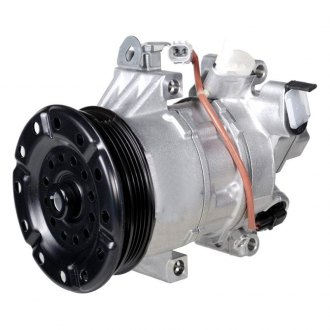 Denso® - A/C Compressor with Clutch