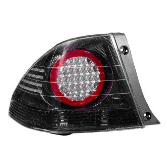 Depo® - Driver Side Carbon Fiber/Red LED Tail Light