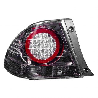 Depo® - Driver Side Black LED Tail Light