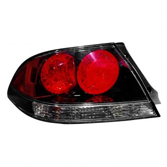 Depo® - Driver Side Black/Red ATZ type Tail Light