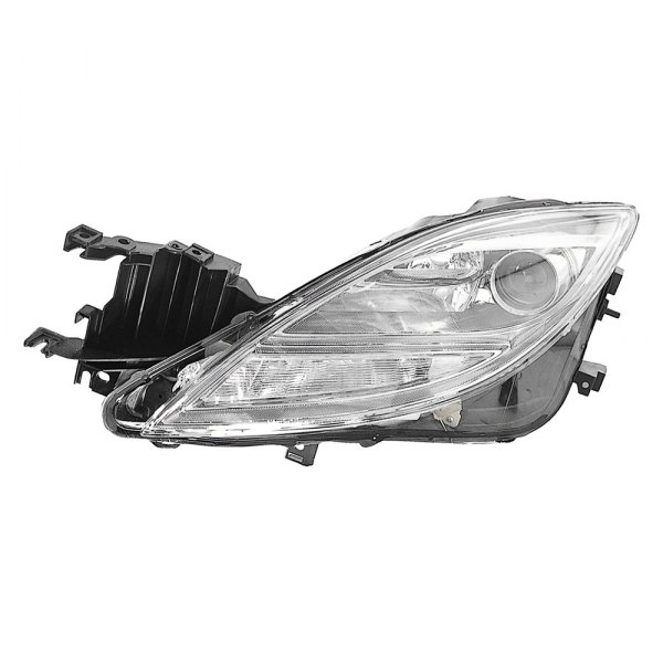 depo mazda 6 with factory halogen headlights 2009 2010 replacement headlight. Black Bedroom Furniture Sets. Home Design Ideas