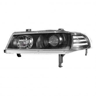 Depo® - Driver and Passenger Side Projector Headlights with Parking Lights