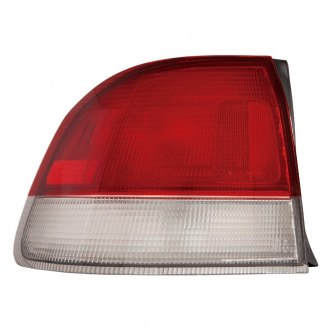 Depo® - Chrome/Red Tail Light