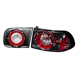 Depo® - Black/Red Tail Light