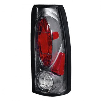 Depo® - Chrome/Red Euro Tail Light
