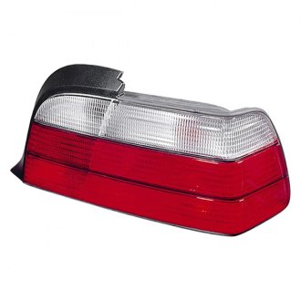 Depo® - Driver Side Chrome/Red Tail Light