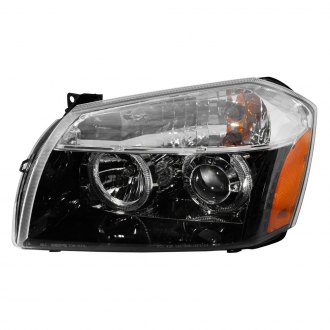 Depo® - Driver and Passenger Side Projector Headlights with LED