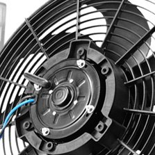 Derale Performance® - High Output Single RAD Fan