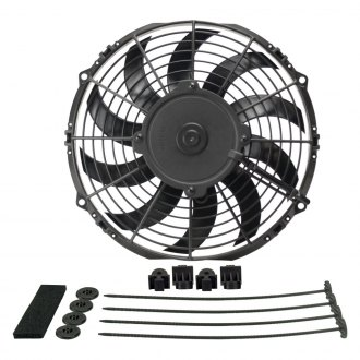 Derale Performance® - High Output Curved Blade Electric Puller Fan