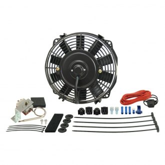 Derale Performance® - Dyno-Cool Electric Fan and Mechanical Fan Controller Kit