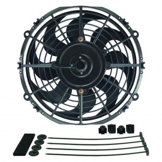 Derale Performance® - Dyno-Cool Curved Blade Electric Fan