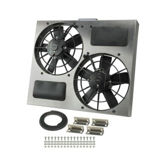 Derale Performance® - Dual Electric Radiator Fan with Aluminum Shroud