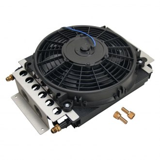 Derale Performance® - Electra-Cool Universal Remote Mount Fluid Cooler