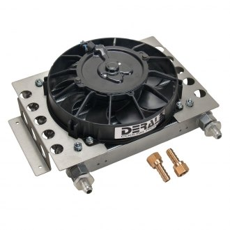 Derale Performance® - Atomic Cool Plate and Fin Remote Cooler