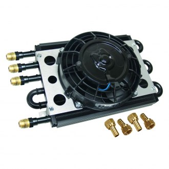 Derale Performance® - Econo-Cool Universal Remote Mount Fluid Cooler