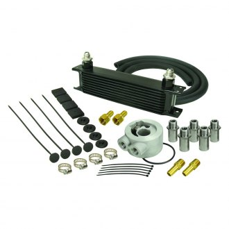 Derale Performance® - Series 10000 Stack Plate Oil Cooler Kit