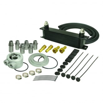 Derale Performance® - Series 10000 Stack Plate Universal Oil Cooler Kit Adapters