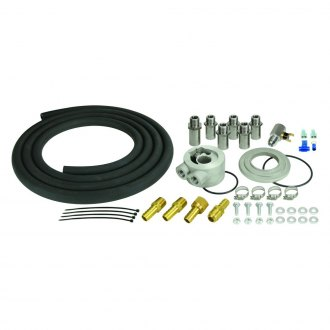 Derale Performance® - Universal Remote Engine Oil Cooler Mounting Kit