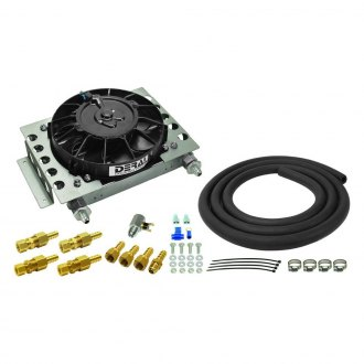 Derale Performance® - Atomic Cool Plate and Fin Remote Transmission Cooler Kit