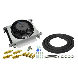 Derale Performance® - 25 Row Hyper-Cool Remote Transmission Cooler Kit