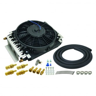 Derale Performance® - 16 Pass Electra-Cool Remote Transmission Cooler Kit