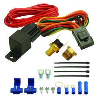 Derale Performance® - 180°F Fan Switch Relay Kit