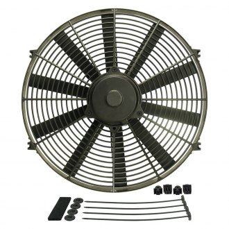 Derale Performance® - Dyno-Cool Straight Blade Electric Fan