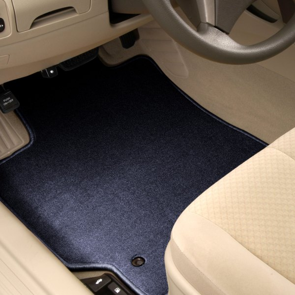 Designer Mat® - Designer Mat™ 1st Row Dark Blue Carpeted Floor Mats