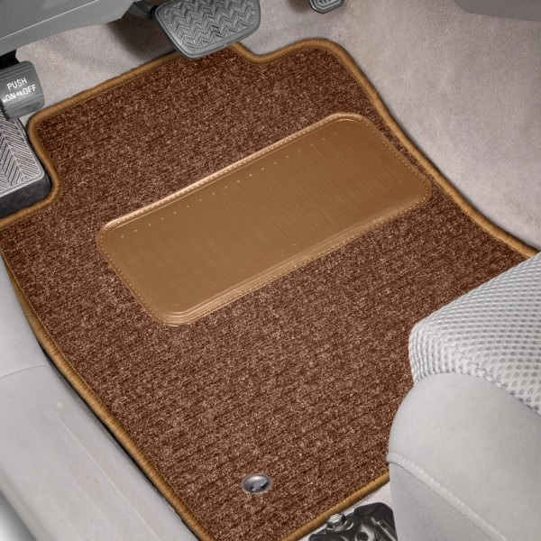 Designer Mat® - Rhino Auto Mat™ Tan Carpeted Mats