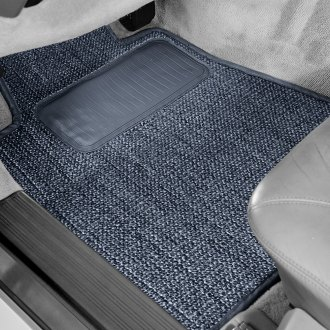 Designer Mat® - Sisal Auto Mat™ 1st Row Blue Carpeted Floor Mats